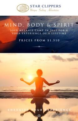 Atlantic Crossing--Yoga and Meditation at Sunrise and Sunset