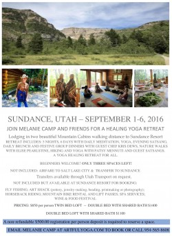 Sundance Utah, 2016