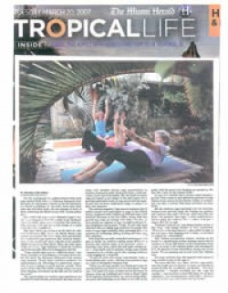 Yoga Moves Back to Nature