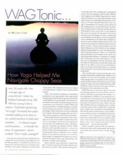 How Yoga Helped Me Navigate Choppy Waters